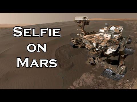 Selfie on Mars: NASA's Curiosity Rover takes Selfie on Mars
