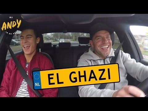 Bij Andy in de auto – El Ghazi