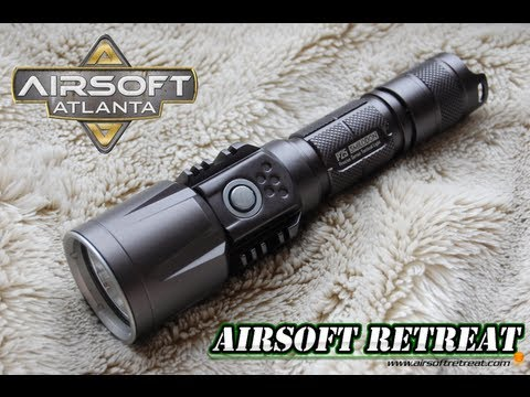 Nitecore P25 Smilodon Tactical LED Flashlight Overview