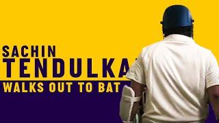 Sachin Tendulkar walks out to bat at Lord's | Access All Areas