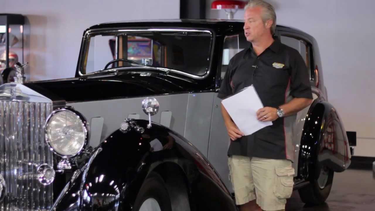 1937 Rolls-Royce Phantom III 3CM65 Sedan For Sale - YouTube