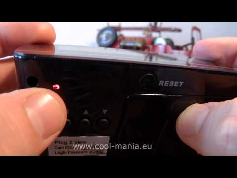 Spy Wifi camera hidden in Clock (www.cool-mania.com)
