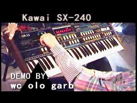 Kawai SX-240 | demo by syntezatory.prv.pl (if out of sync, read instructions)