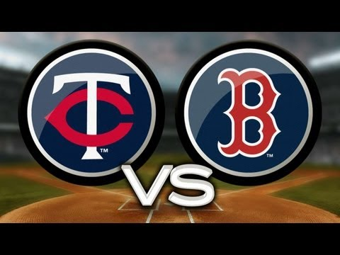 5/8/13: Twins rout Red Sox behind 20-hit outburst