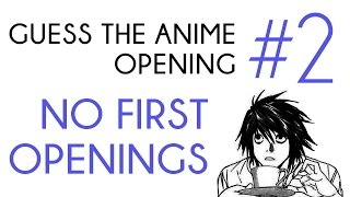Guess the Anime Opening [Easy, Medium, Hard, Hell] #2