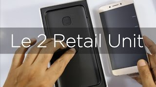 Le 2 Unboxing & Screen Check & Issues (Indian Retail Unit)