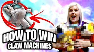 How to win claw machines | Tip and tricks to win more at the claw machine