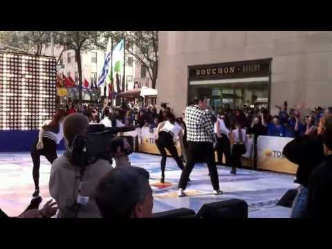 Event Planners in NJ - PSY performing Gentleman on the NBC Today Show with PMG Dancers