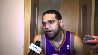 Jared Dudley: Phoenix Suns vs Dallas Mavericks Post Game Comments 04.10.13