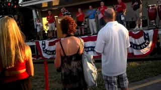 Laurenda Frye Singing The Star Spangled Banner