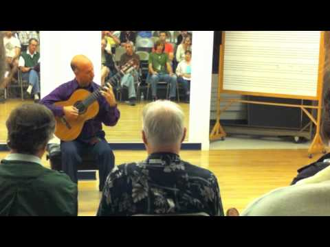 David Leisner Performs Bach Chaconne