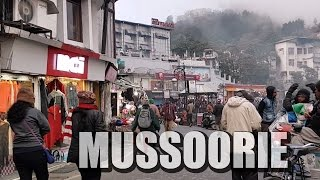 Mussoorie Hill Station, Uttarakhand, India
