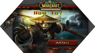 "[TuTo] How to join ""Pandashan WoW mist of pandaria server"" كيفت إشتراك في"