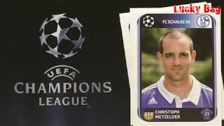 Panini Sticker UEFA Champions League Album 2010 new stickers in Lucky Bag Paninialbum