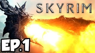 Skyrim: Remastered Ep.1 - DRAGONS HAVE RETURNED!!! (Special Edition Gameplay)