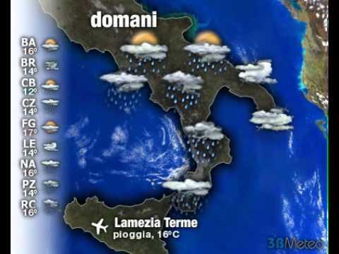 Meteo Italia a 3 giorni del 06/03/2013
