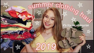HUGE Summer Try-On Haul 2019