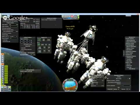 Kerbal Space Program - Landing A City Ship On The Mun - Livestream Test