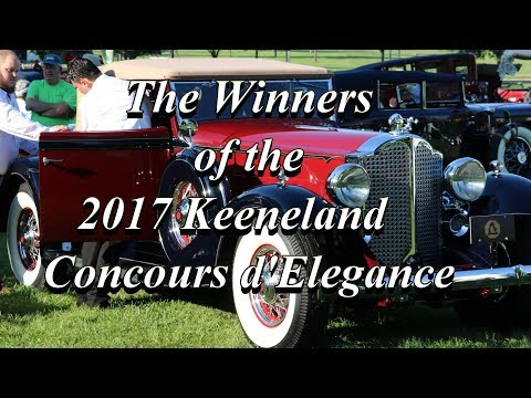 The Winners of the 2017 Keeneland Concours