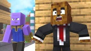 How to Hide From THANOS in Minecraft Hide and Seek - Minecraft Modded Minigame   JeromeASF