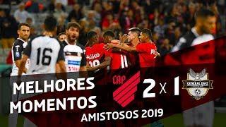 Athletico Paranaense 2x1 General Díaz   MELHORES MOMENTOS