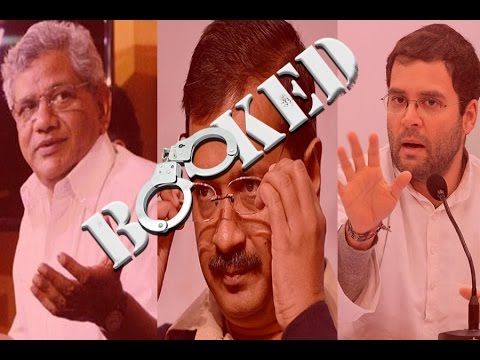 Why Rahul, Kejriwal, Yechury, 9 others booked for sedition? What was their role in JNU issue