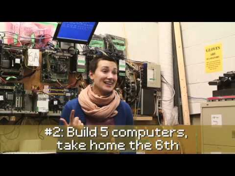 Free Geek Vancouver battles e-waste