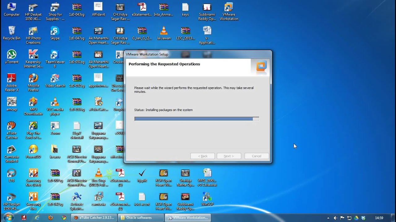 how to run linux virtual machine in windows 7