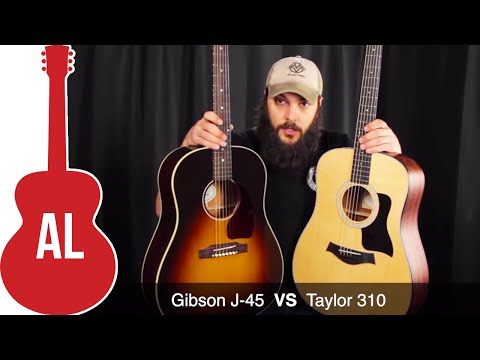 Taylor 310 VS Gibson J-45 - Which Sounds Better?