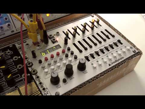 Intellijel Metropolis Eurorack Sequencer Demo