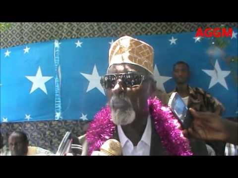 Kismaayo Caleemo Saarka Madaxweynaha Jubbaland Col. Bare Aden Shire.