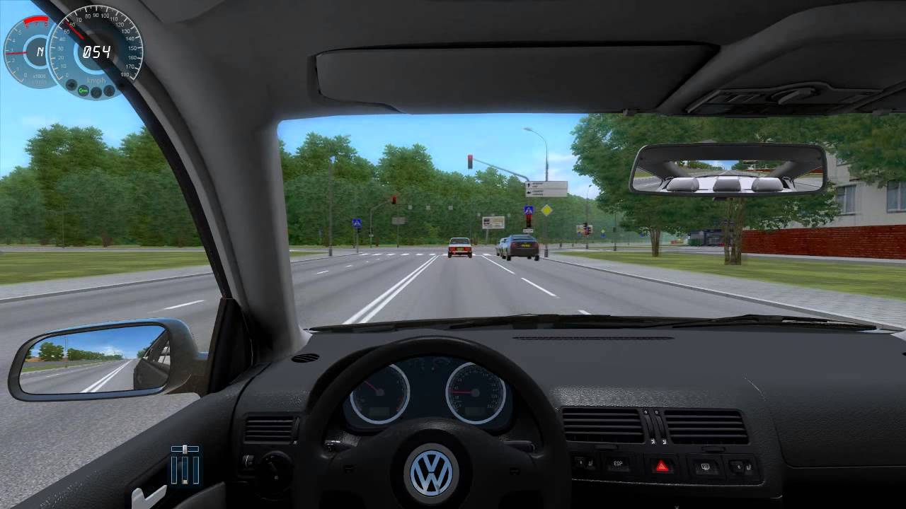 City Car Driving - Volkswagen Bora - YouTube