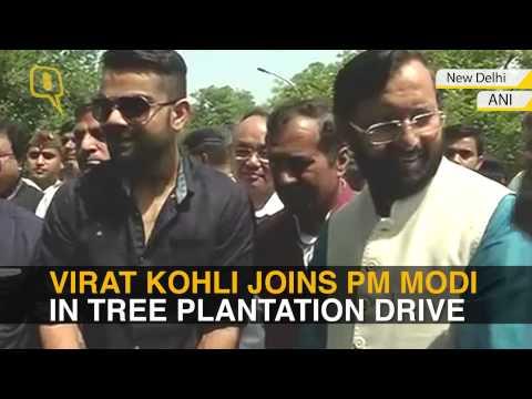 World Environment Day: PM Modi Plants a Sapling