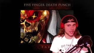 Download Lagu Fake (Five Finger Death Punch) - Review/Reaction Gratis STAFABAND