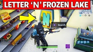 Fortnite Week 4 Search All Noms Letter Locations Finding Letter O S