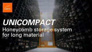 Honeycomb System: Bar Storage KASTO UNICOMPACT