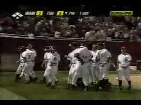 2004 FSU vs Miami - S Drew HR Video
