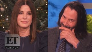 Sandra Bullock And Keanu Reeves' Almost Romance