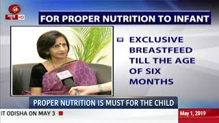 Health News: Importance of nutrition for the child | 01/05/2019