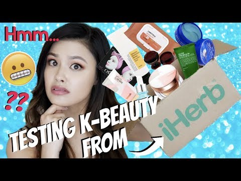 TESTING POPULAR K-BEAUTY ON iHERB ... Are They Any Good?