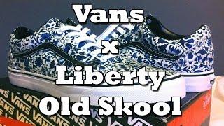 a3f3edb5eacac6 Vans x Liberty Old Skool (Floral Vines) Review