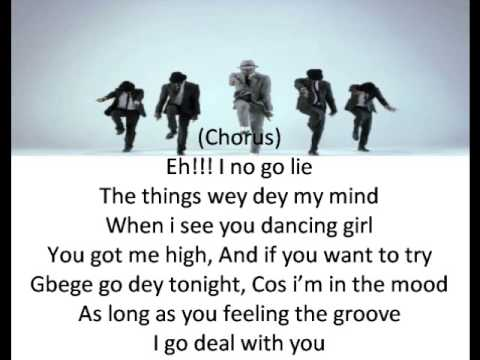 Psquare Personally Lyrics video