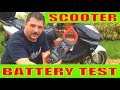 Scooter battery not charging Test