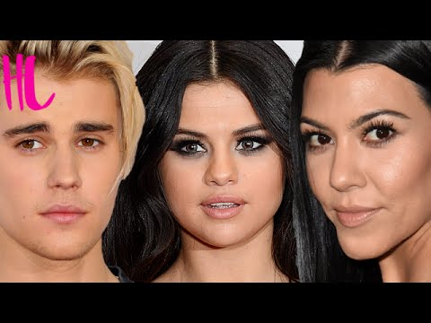 Selena Gomez Reacts To Justin Bieber Kourtney Kardashian Affair