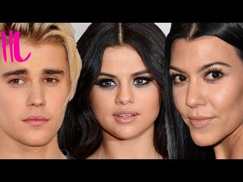 Selena Gomez Reacts To Justin Bieber Kourtney Kardashian Affair