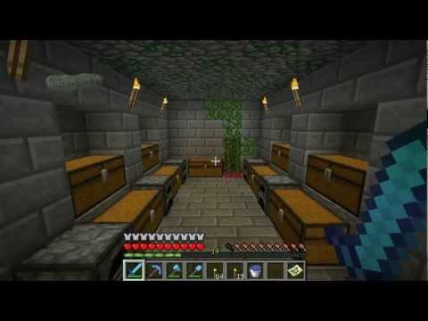 Сражение с драконом в minecraft 1.2.5 (часть 60). Fomka31