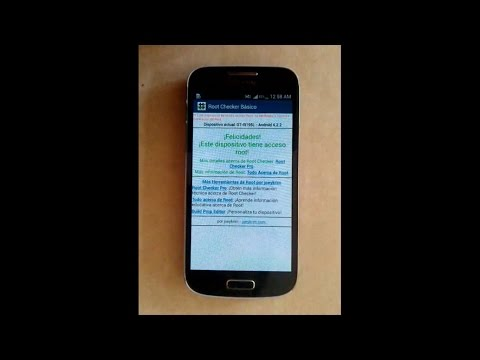 Root Samsung Galaxy S4 Mini Android 4.2.2 y 4.4.2.