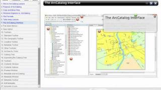 Introduction to ArcCatalog Lecture - ArcGIS 10 - GT-101 - Washington College