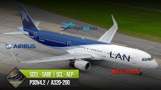 DIRECTO [P3Dv4.2.2] FSLabs A320-200 + AS16 + ASCA | SCEL - SABE | IVAO (ESP/ENG)