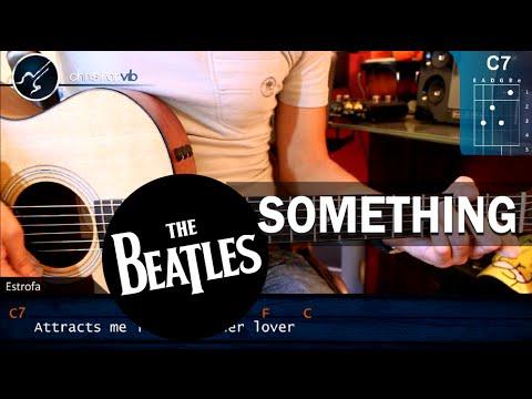 Cómo tocar Something de The Beatles en Guitarra Acústica HD Turorial Acordes christianvib